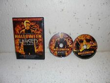 Halloween 2 Disc Unrated Director's Cut DVD RARE Out of Print