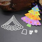 Christmas Tree Cutting Dies Stencil Scrapbook Paper Cards Craft Embossing