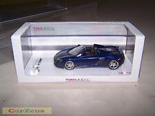 1:43 TSM, 2015 McLaren 650S Spider, Volcano Blue, Right Hand Drive