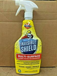 The Invisible Shield: 25oz Multi-Surface Cleaner, Protector, and Deodorizer