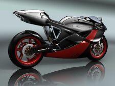 "24"" x 16"" Poster Concept Super Bike"