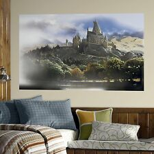 HARRY POTTER HOGWARTS SCHOOL MuRaL Wall Decals Room Stickers Decor Castle NEW