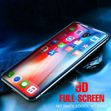 9D Curved Tempered Glass Full Coverage Screen Protector For iPhone X 7 8 Plus