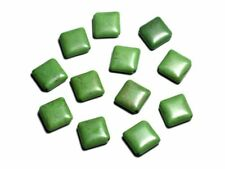 10pc - Perles Pierre Turquoise synthèse - Losanges 18mm Vert -  4558550088284