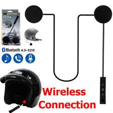Bluetooth Headset Motorcycle Helmet Earphone Headphone For MP3 MP4 Phone Calling