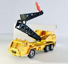 TOMY TOMICA JAPAN No.66 NISSAN DIESEL TRUCK CRANE ( YELLOW ) - RARE