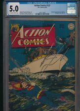 Action Comics #123 CGC 5.0 (D.C. Comics) - 1948 Atom Age Superman