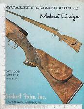 8495 Quality Gunstocks of Modern Design 1975 catalog 61 Reinhart Fajen Warsaw MO