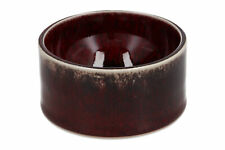 A Sven Hofverberg Swedish art pottery Sang de boeuf bowl