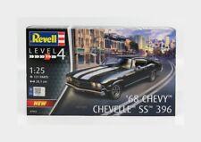 Chevrolet Chevelle Ss 396 Coupe 1968 Kit REVELL 1:25 RV07662