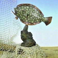 "Taxidermy Fluke Statue 18"" Stunning Fiberglass Fish Mount"