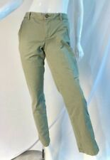 NEW TOMMY HILFIGER Desert Grass Olive Green Cropped Jeans Pants, SZ 8