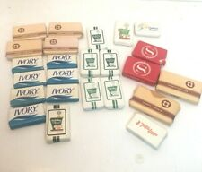 Lot of 24 Vintage Hotel Travel Soaps Ivory Dial Camay Safeguard Cashmere Bouquet
