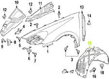 Porsche Cayenne 11 - 14 OEM Fender Liner Splash Guard 95850496200 Front Right