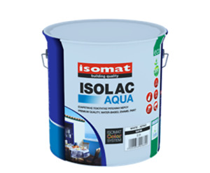 ISOMAT ISOLAC AQUA -  White - Paint for Woodwork with Enamel, Ext and Interior