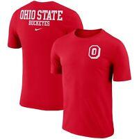 Ohio State Buckeyes Mens Nike Dri-Fit Cotton Stadium T-Shirt - XXL/XL/Large  NWT