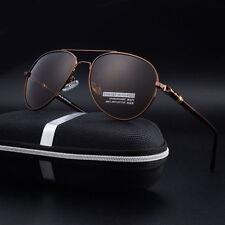 HD Polarized sunglasses Men's Driving Pilot outdoor Sports UV400 Eyewear Glasses