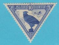 ICELAND C3  AIRMAIL MINT HINGED OG *  NO FAULTS VERY FINE !