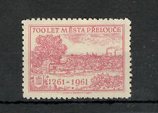 Czechoslovakia - Czech Republic-Poster Stamp,700 Years Of Places Přelou�e-1961.