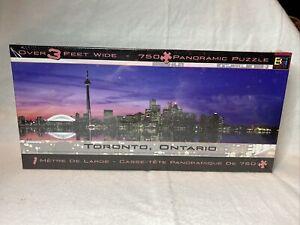 Toronto, Ontario Panoramic 750 Piece Puzzle Over 3 Feet Wide