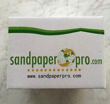 "Sandpaper 1000 grit loop backed 9 hole Festool® style 6"" (150mm) 100 sheet box"