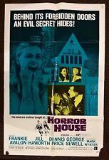 HORROR HOUSE 1970   ORIGINAL-  US 1 SHEET   CINEMA POSTER.  27 X 41 INCHES