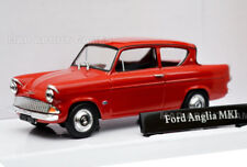 FORD ANGLIA MKI 1:43 Car Model Die Cast Metal Cars Models Miniature 105 E Red