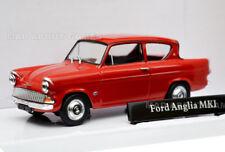 Ford Anglia MKI 1:43 Coche Modelo Die Cast Metal Modelos de Coches en Miniatura 105 E rojo