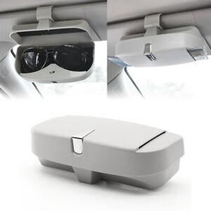 Universal Car Auto Sunglasses Holder Storage Glasses Hold Case Sun Visor Clip