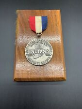 1973 Nixon Agnew Inaugural Badge - Indiana With Plaque