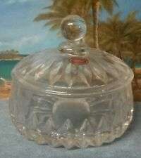 Gorham Althea Round Fine Lead Crystal Covered Bowl
