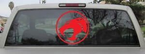 Thundercats Logo Vinyl Decal Outlined Version - You Choose Sticker Size & Color