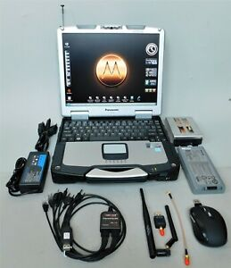 TOUGHBOOK Radio Programmer + SDR-Based RF Receiver & RF Spectrum Analyzer +ADS-B