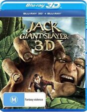 Jack The Giant Slayer 3D (Blu-ray, 2013)