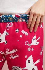 Anthropologie Sweet Dreams Flannel Sleep Pants By Lilka Xs Bunnies