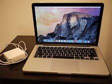 "Apple MacBook Pro A1425 RETINA 13.3"" Laptop 2.5Ghz/8GB/128SSD-MD212LL/A Late2012"