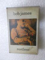 BOB JAMES RESTLESS RARE orig CASSETTE TAPE INDIA CLAMSHELL 1994