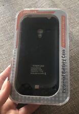 Nuevo y en caja de batería externa Negro caso batería para Samsung Galaxy S3 Mini