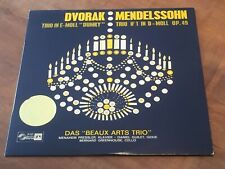 Dvorak Mendelssohn Piano Trios BEAUX ARTS TRIO CONCERT HALL TURICAPHON LP Swiss