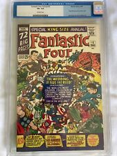 Fantastic Four Annual #3 CGC (old label) 8.5 Very Fine+ Off White Pages