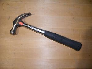 Stanley 51-031 Claw Hammer w/ Steel Handle, 16 Oz