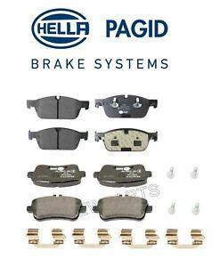 For Mercedes Benz GL350 GL450 GL550 GLE43 AMG Rear & Front Brake Pad Set Pagid