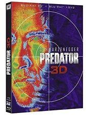 Predator 3D - Bluray 3D + Bluray 2D + DVD.