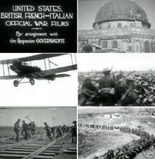 World War 1 WW1 America Goes Over 1918 Historical Silent Footage DVD