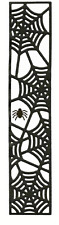 """Lifestyle Crafts QuicKutz 12"""" Border Die WEB Framed, With Spider, Spooky -DC0190"""
