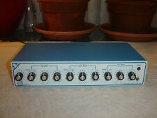 Sescom PM-100, Parametric Equalizer Preamp, Eq, Vintage, As Is or Repair