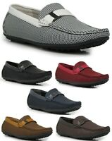 Men's Light Weight Moccasin Comfort Fashion Driving Loafer Shoes 6 Colors PST02