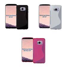 pour Samsung Galaxy S8 S-LINE SILICONE GEL EN DIVERS COULEURS ÉTUI COQUE