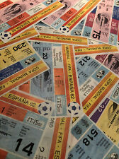 More details for 1982 spain world cup - various tickets - most unused mint! *choose from list*