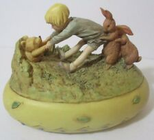 Classic Winnie the Pooh and Christopher Robin Music Box - Charpente Style
